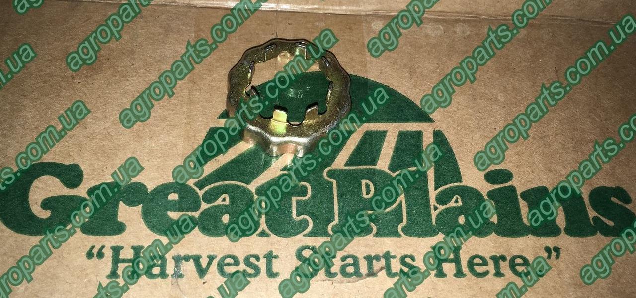 Корончатая 343021 шайба гайки Great Plains SLOTTED NUT COVER колпак GD1083 фиксатор