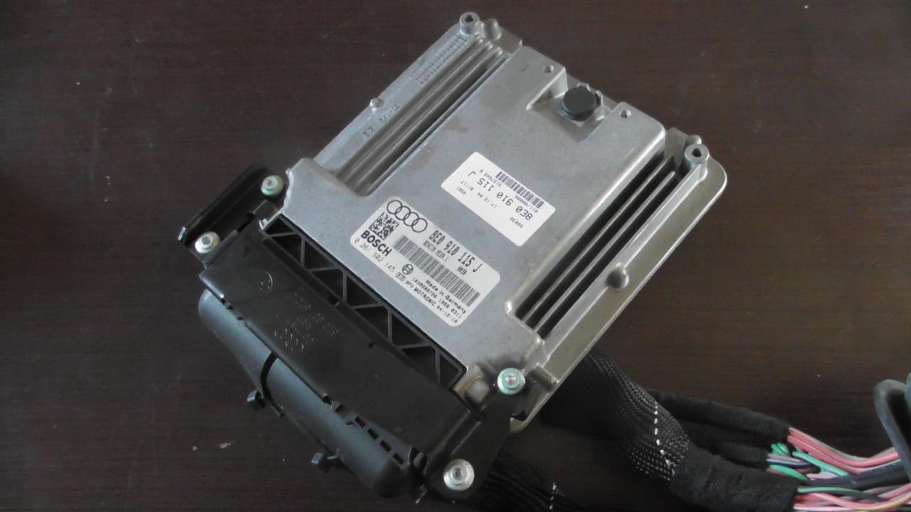 8E0910115J Блок управления двигателем для Audi A4 quattro B7 2004 - 2008 г.в. В наличии!