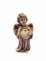 Ангел с сердцем (малый) (Статуэтки Мраморная крошка)