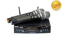 Радиомикрофон профессиональный сдвоенный. Радиосистема DV audio MGX-24 Dual сдвоенная