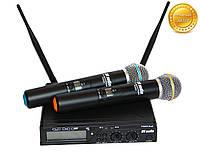 Радиомикрофон профессиональный. Радиосистема DV audio PGX-24 Dual сдвоенная. Беспроводной микрофон.