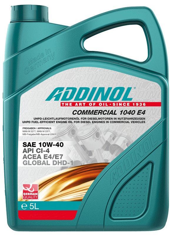 Addinol Comercial 1040 E4 10W-40 5л