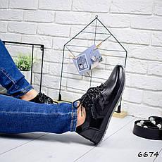 """Кроссовки мужские, черные в стиле """"Reebok"""" эко кожа, мокасины мужские, кеды мужские, мужская обувь, фото 3"""