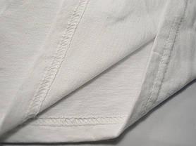 Женская футболка с V-образным вырезом 61-398-0 Белый, XL, фото 3