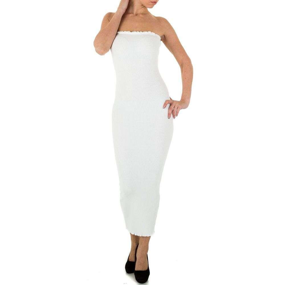 Женское платье из Shk Paris, размер One Size - white - KL-K161-белый