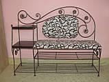 Кованый набор мебели в прихожую  -  06, фото 9