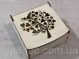 Дерев'яна коробка для пакування Подарункова коробка