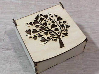 Деревянная коробка для упаковки Подарочная коробка