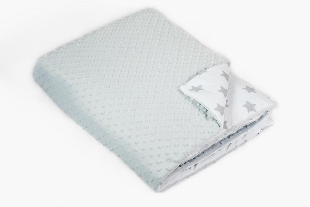 Одеяло в кроватку Twins Minky 115/155 серый (цвета в ассортименте)