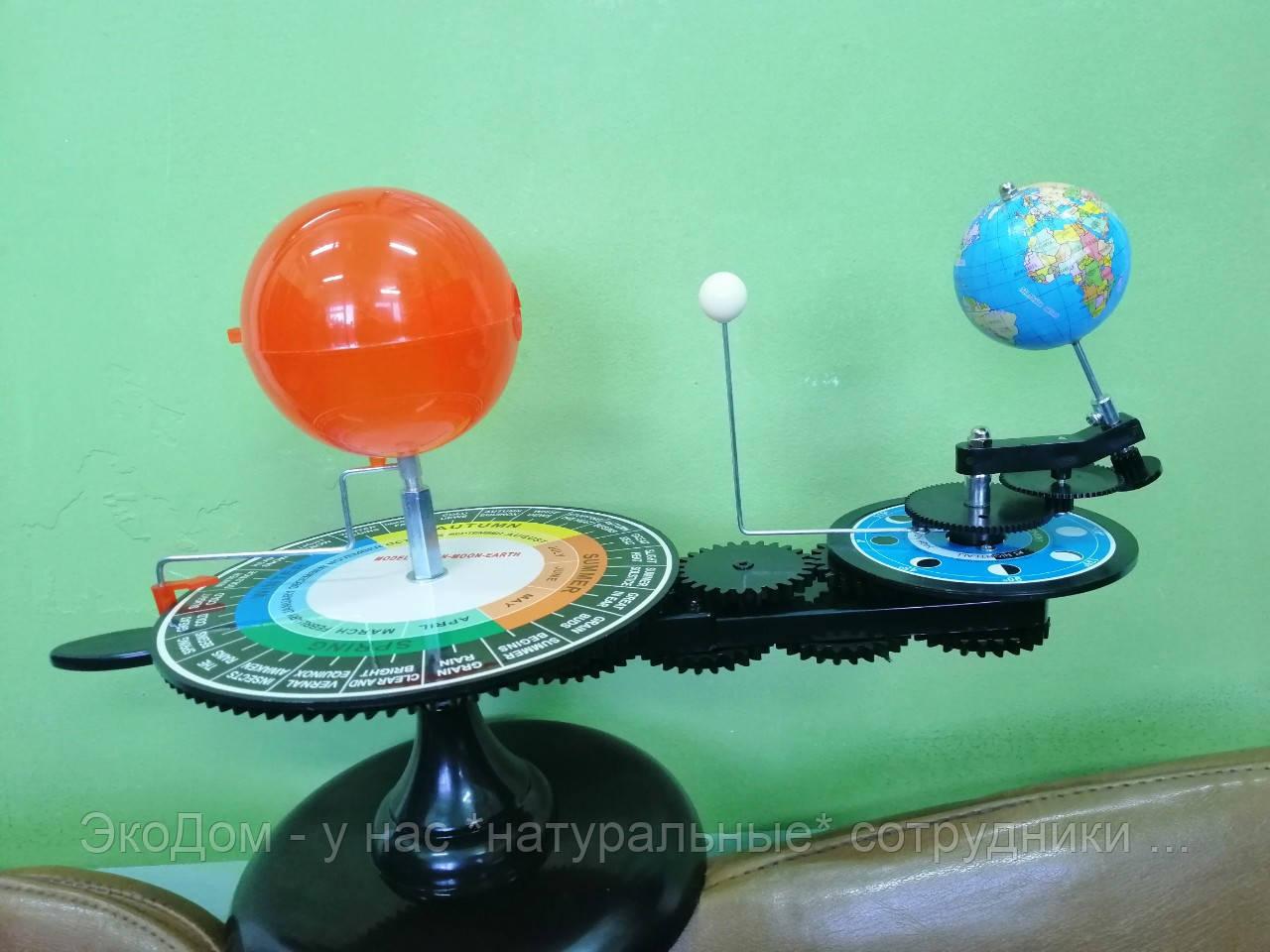 Теллурий - демонстрационная модель (Модель Солнце-Земля-Луна)