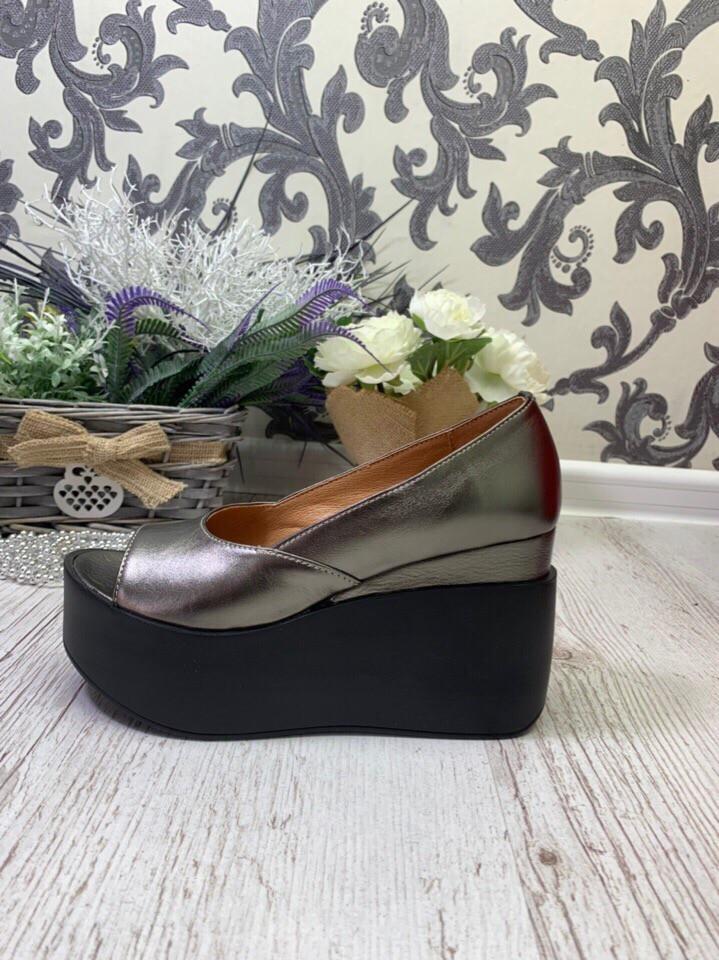 35aab70e866b Женские летние туфли на платформе.Натуральная кожа.: продажа, цена в  Запорожье. ...