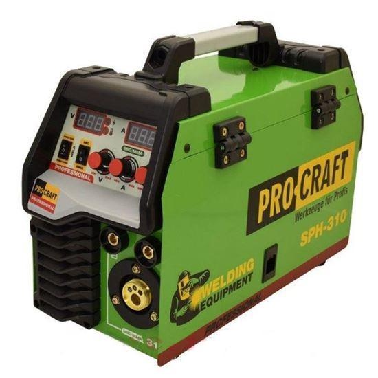 Зварювальний апарат інверторний напівавтомат ProCraft SPH-310 MIG+MMA (2 в 1)