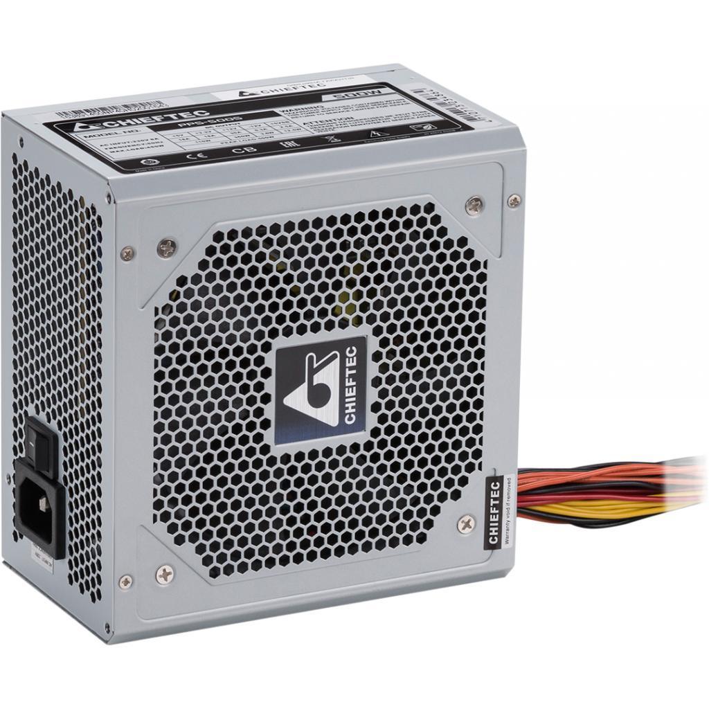 Блок питания 500W Chieftec PPS-500S