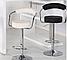 Барный стул Марсель белый кожзам от SDM Group, стул визажиста, фото 9