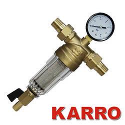 """Самопромывной фильтр Karro 1/2"""" для холодной воды"""