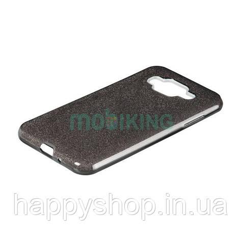 Чохол-накладка Remax з блискітками для Samsung Galaxy J2 2018 (J250) Black, фото 2