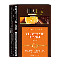 Натуральное мыло Шоколад и Апельсин антицеллюлитное 150 г THALIA