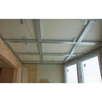 Теплоизоляция потолков плитами из экструдированного полистирола на клей, фото 1