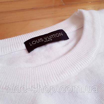 Свитер Louis Vuitton белый, фото 2