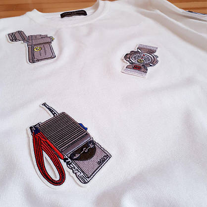 Свитер Louis Vuitton белый, фото 3