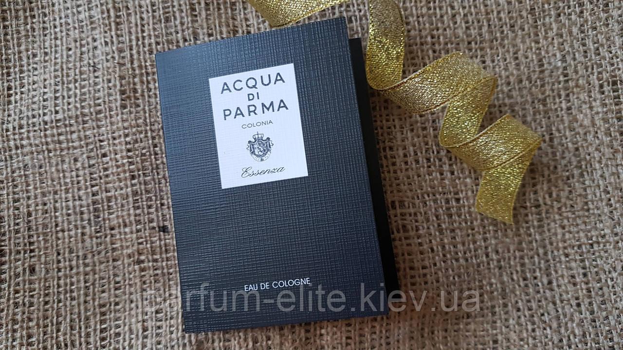Пробник мужской нишевой парфюмированной воды Acqua di Parma Essenza di Colonia 1.2ml