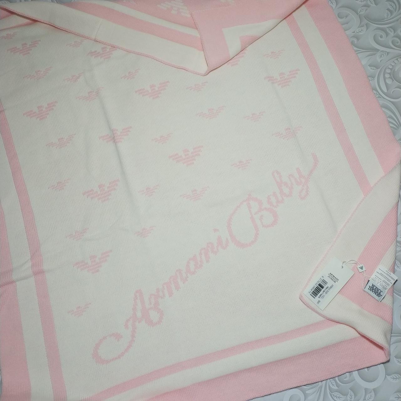 Плед Armani, детское одеяло- в коляску, кроватку, машину