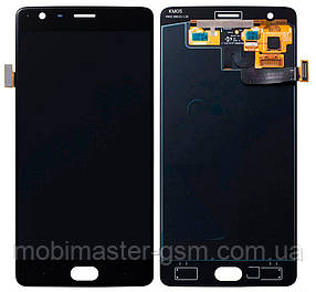 LCD модуль OnePlus 3 / 3T черный