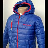 """Куртка весенняя с вышивкой """"Columbia""""  для детей отт 2 до 5 лет"""