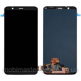 LCD модуль OnePlus 5T черный