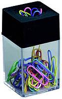 Магнитная подставка с набором цветных скрепок  ALCO