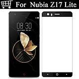 Чохол пластик з Soft-touch покриттям для ZTE Nubia Z17 Lite (NX591J) / Скла /, фото 9