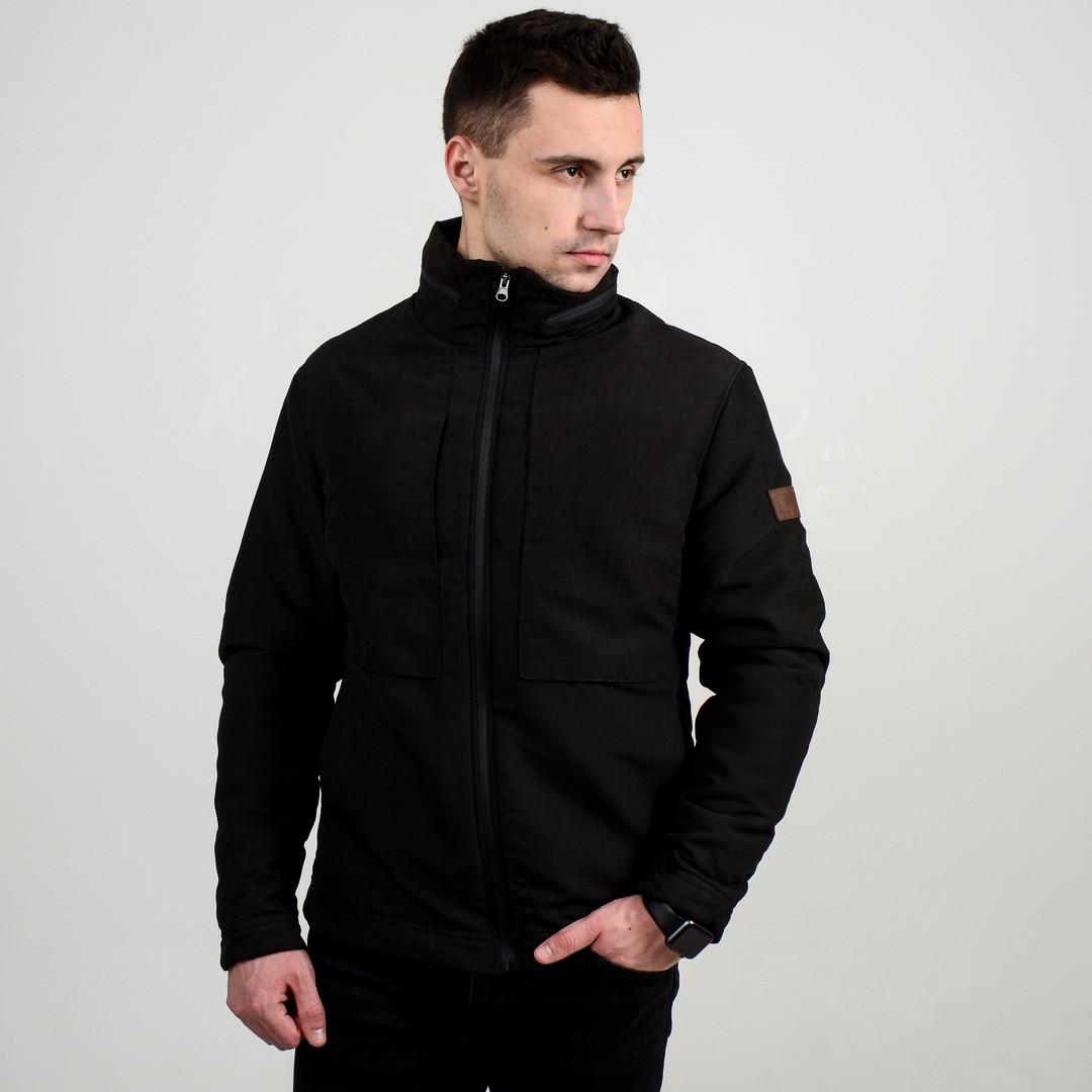 Куртка мужская черная . Куртка чоловіча. ТОП КАЧЕСТВО!!!, фото 1