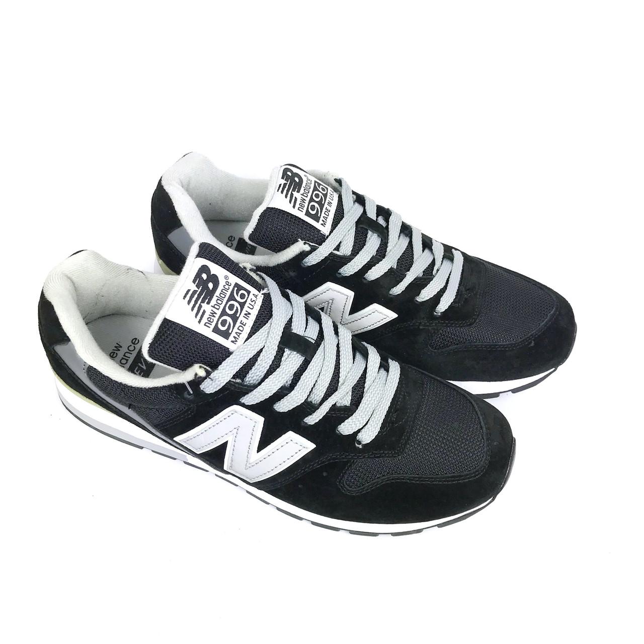 4960cb29 Кроссовки New Balance 996, черные, мужские, LUX-реплика - VUBO — авторская