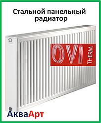 Стальной радиатор Ovi Therm 22 тип 500*500 боковое подключение