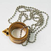 Кольцо стеклобой для самозащиты цвет золото, фото 1