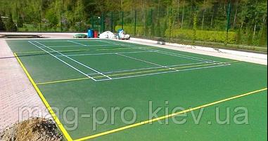 Киевская обл. бесшовное резиновое покрытие для универсальной спортивной площадки