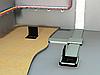 Система каналов под пол и люков для заливание в бетон
