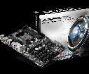 """Материнская плата ASRock FM2A88X Extreme4+ sFM2/FM2+ AMD A88X DDR3 """"Over-Stock"""" Б/У, фото 2"""