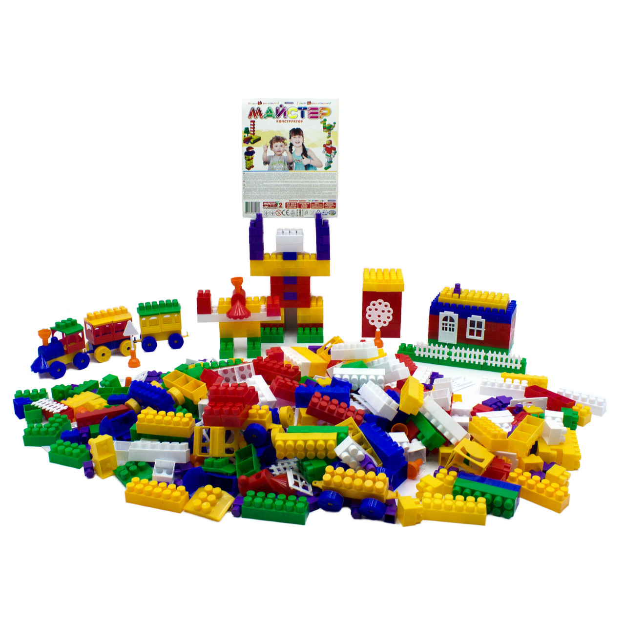 Конструктор дитячий Maximus «Майстер 2», 600 елементів арт. 5066