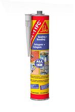 Клей полиуретановый для швов,трещин.Клей для различных материалов Sikaflex-11FC+ бел,беж,кор,сер,чер.
