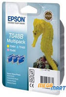 Картридж струйный Epson T048B bundle (C13T048B4010)