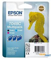 Картридж струйный Epson T048B bundle (C13T048C4010)