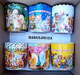 Бумажные формы для выпечки оптом 70*65  Ангелочки, фото 2