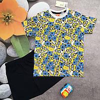 Комплект футболка и шорты для мальчика 2-4 года р. 98-104 немецкого бренда Dispicable Me