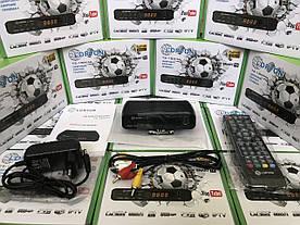 Т2 Тюнер LORTON T2-18 Mini LED T2 Internet (YouTube, IPTV, Megogo онлайн-кінотеатр) із дисплеєм (12V)