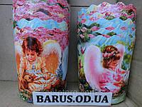 Бумажные формы для выпечки оптом 130*85  Ангелочки