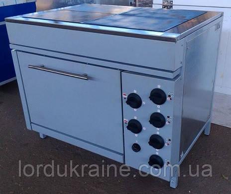 Плита электрическая промышленная с духовкой ЭПК-4ШБС (стандарт) ТМ ЭФЕС