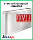 Сталевий радіатор Ovi Therm 22 тип 500*1100 бокове підключення, фото 2