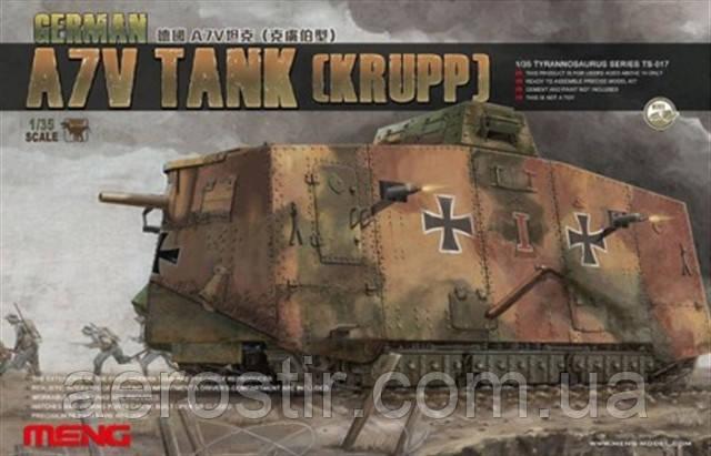 Танк A7V \ Krupp\ 1\35 MENG TS-017
