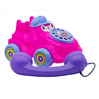 Дитяча іграшка-каталка Maximus «Телефон малий» арт. 5105